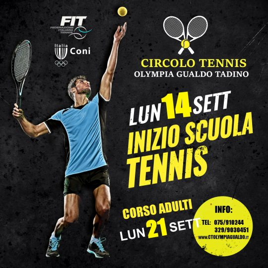 Corsi Mini-Tennis/SAT e Adulti