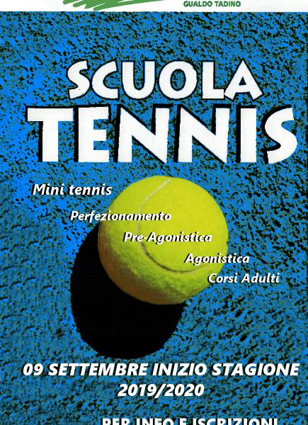 Corsi Mini-Tennis/SAT e Adulti