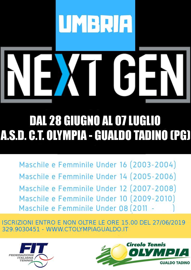 TORNEO GIOVANILE MASCHILE E FEMMINILE UNDER 8/10/12/14/16